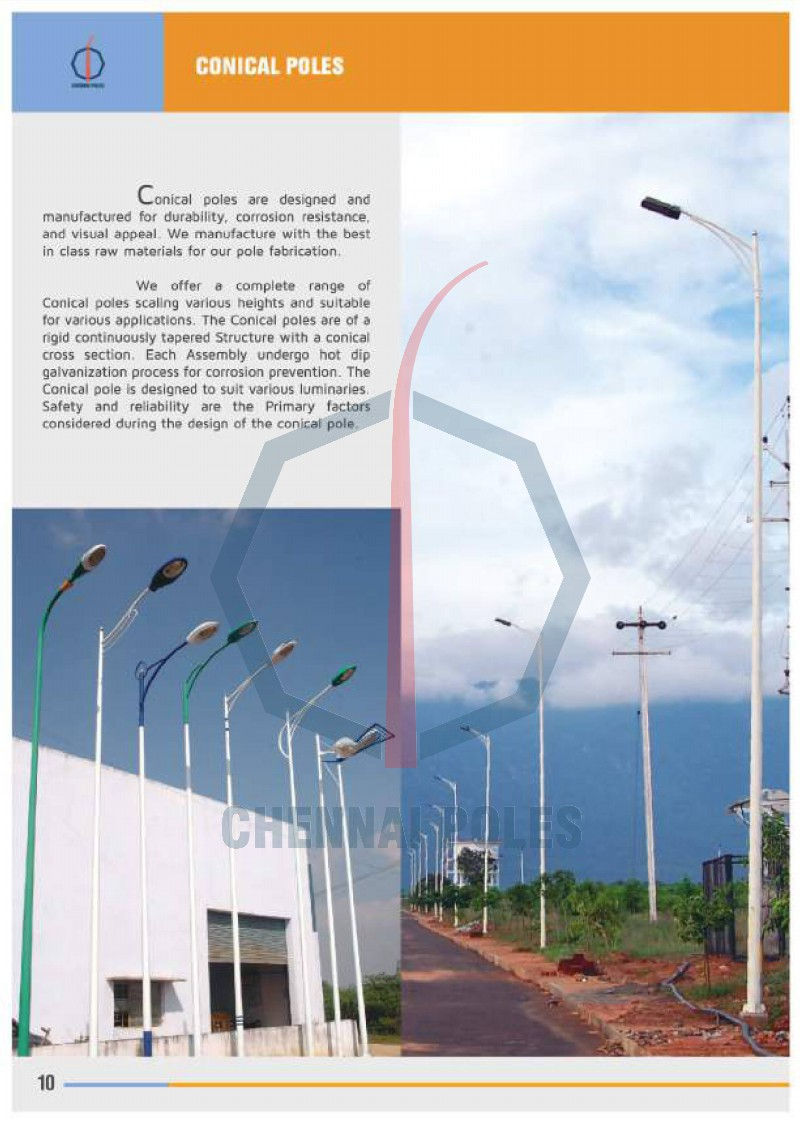 Conical Poles 2